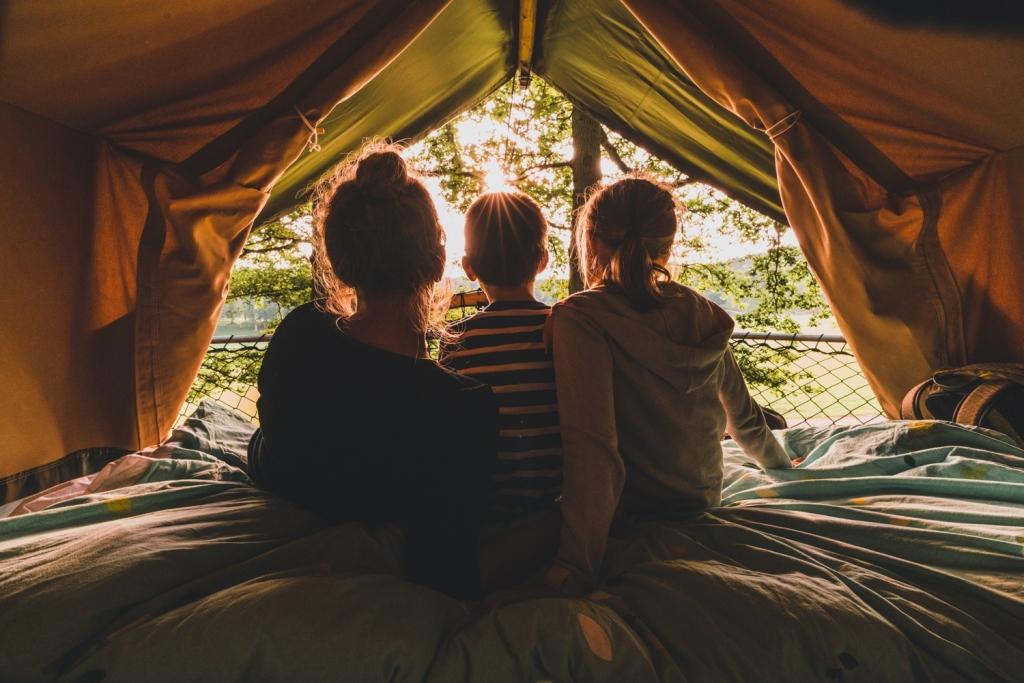 met kinderen kamperen in belgie
