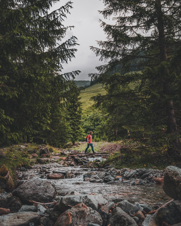 wandelen in oostenrijkse bergen