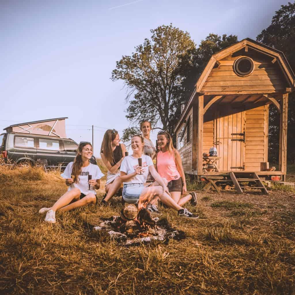 waar kamperen in belgie