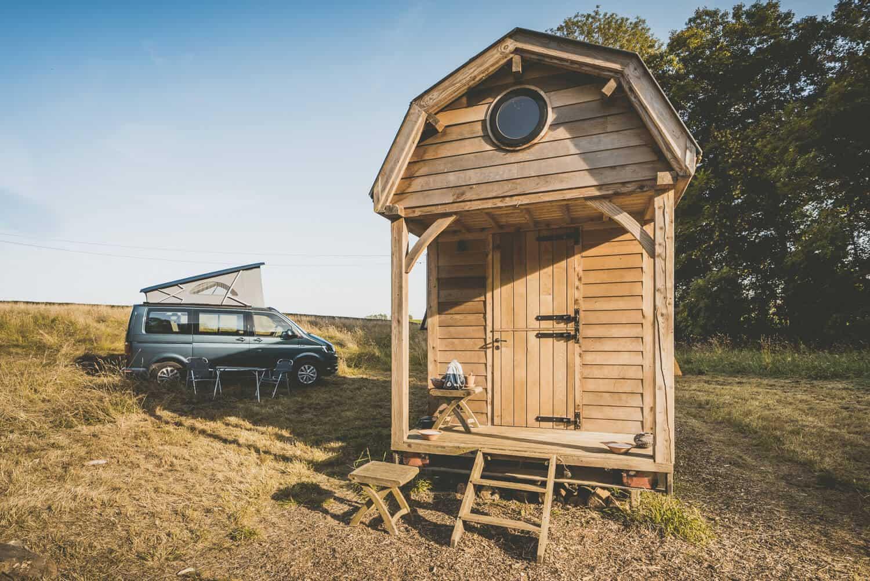 kamperen in belgie cabin