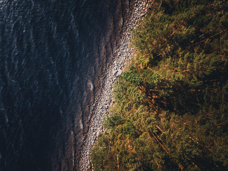 zweden kanoen op meren