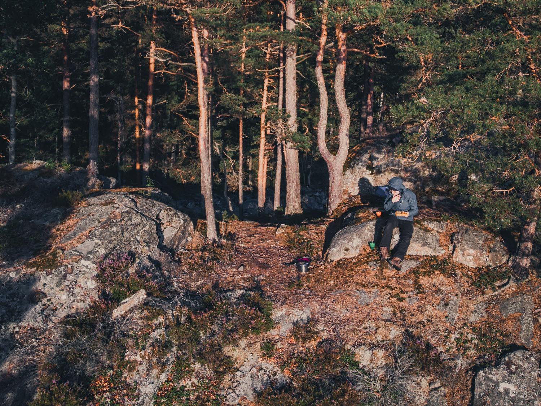 op zweedse meren kanoen