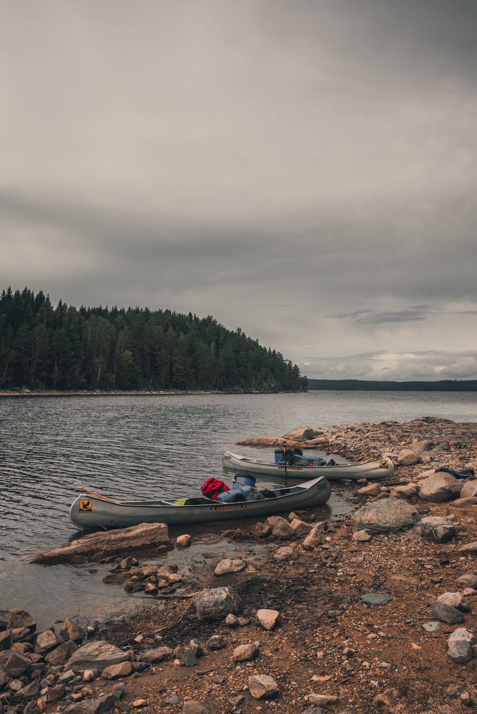 een kanotour maken in zweden