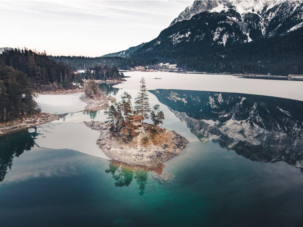 duitsland eibsee meer