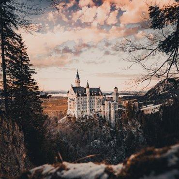neuschwanstein kasteel in duitsland