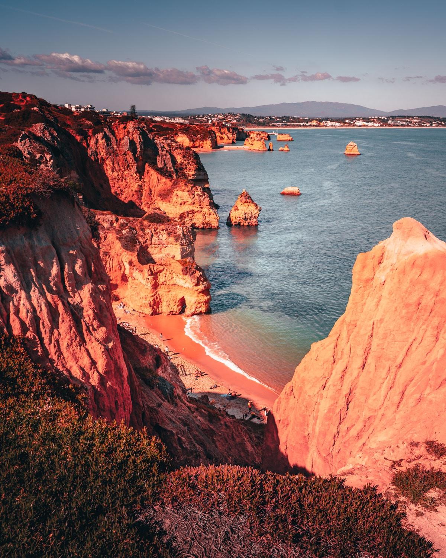 op huwelijksreis naar portugal