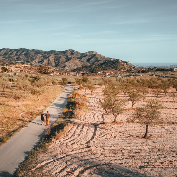 Roadtrip: Alicante-Valencia, magistrale wegen van de wereld en Villajoyosa, Boulevard d'Amour