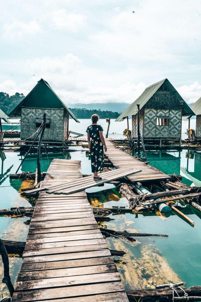 slapen op het water thailand