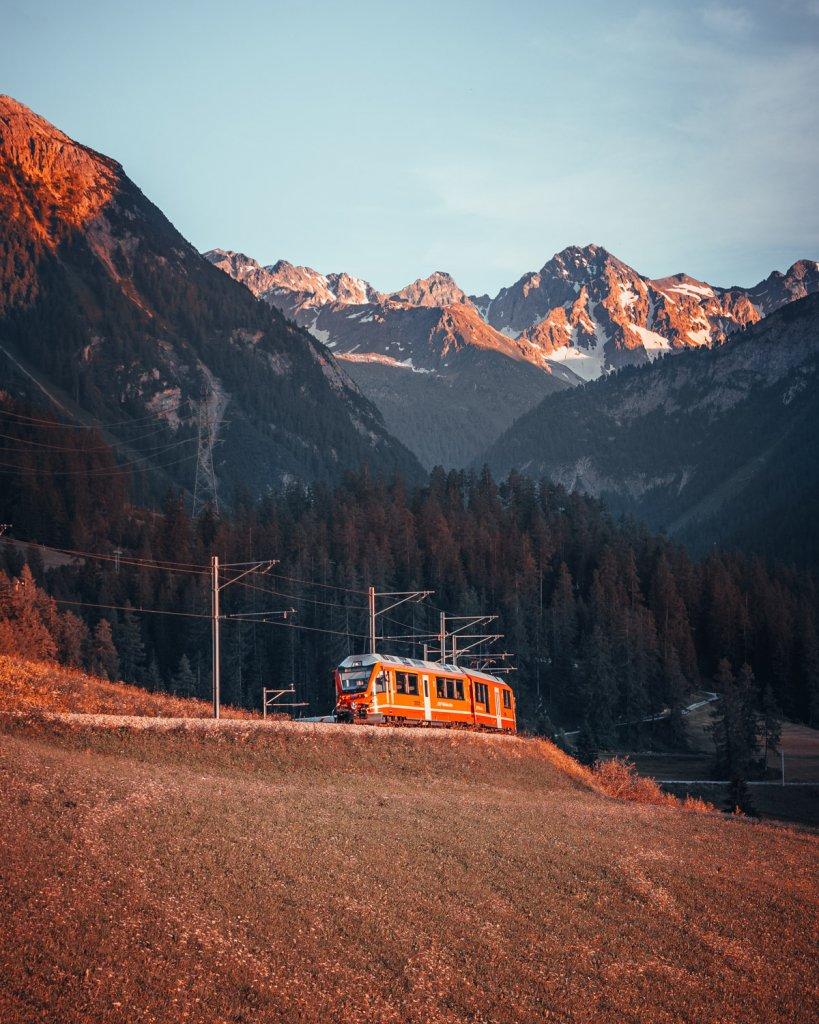 met de trein naar de alpen hoe