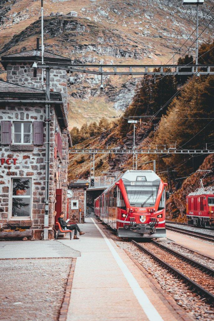 een treinvakantie plannen