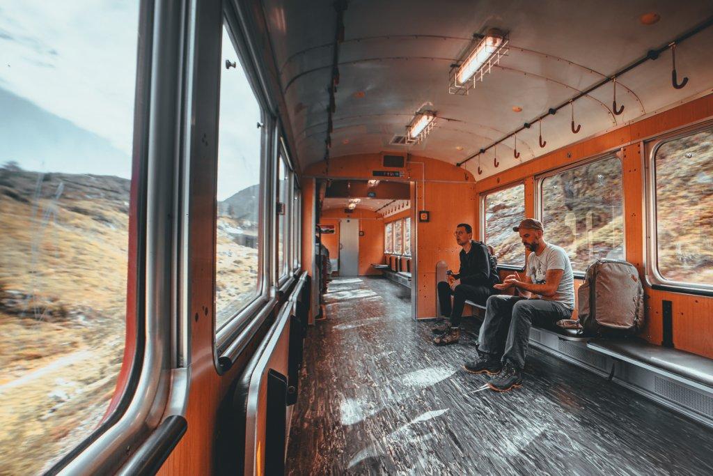 ecologisch reizen naar zwitserland