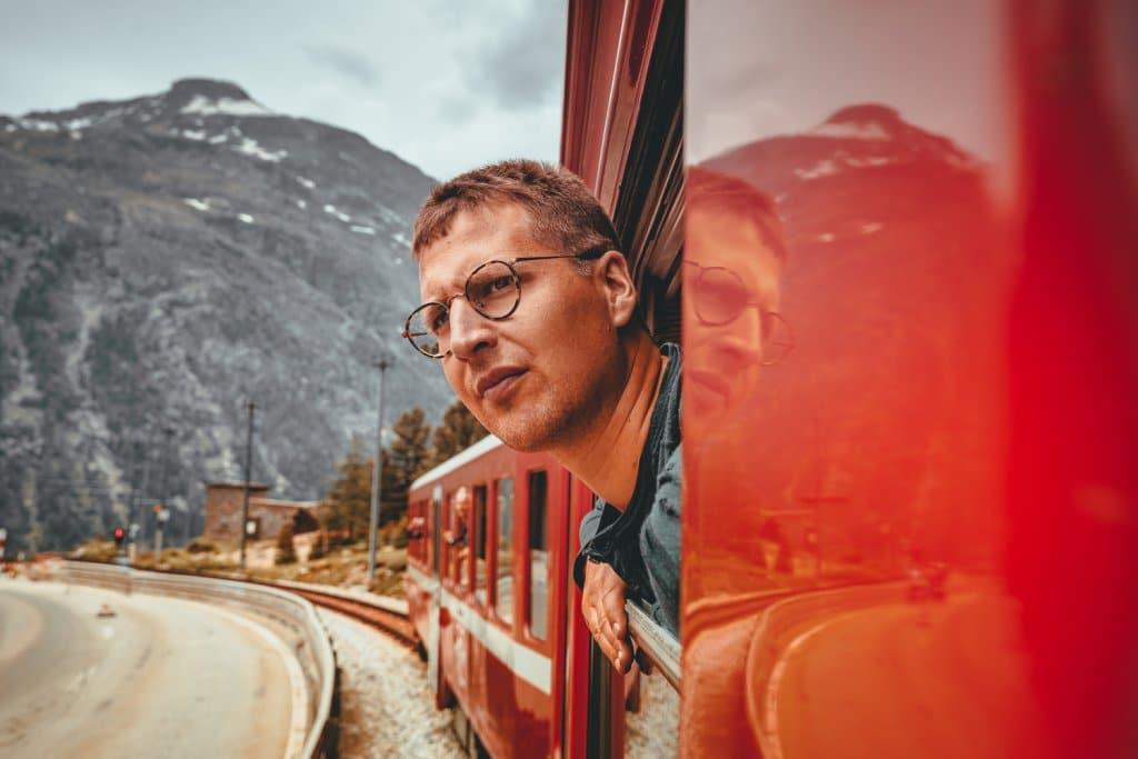 naar zwitserland met de trein vakantie