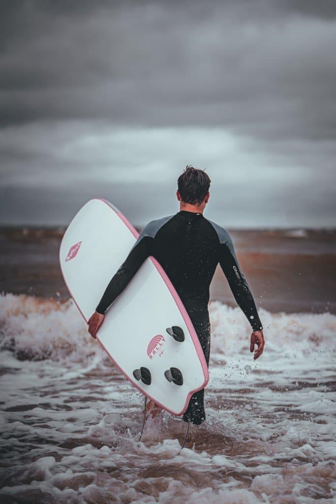 leren surfen belgische kust