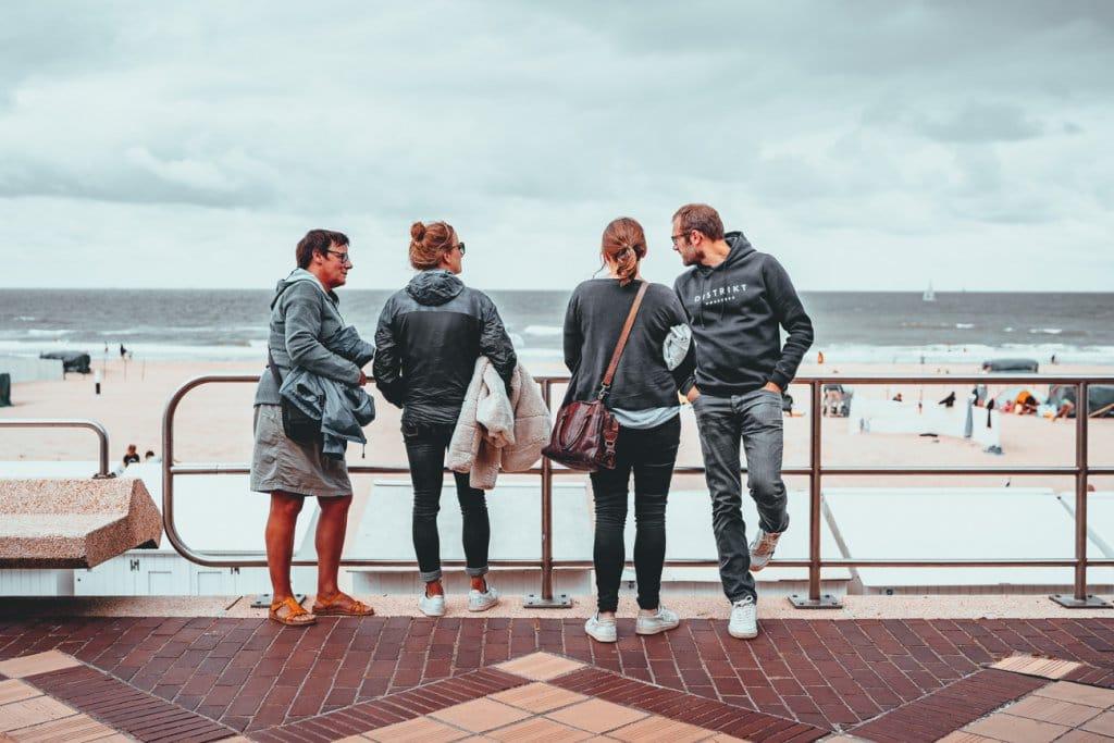 weekend aan zee familie