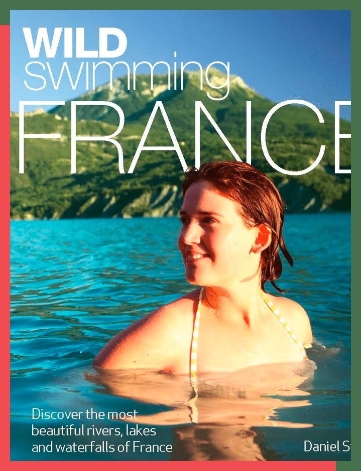 Het boek: Wildzwemmen in Frankrijk