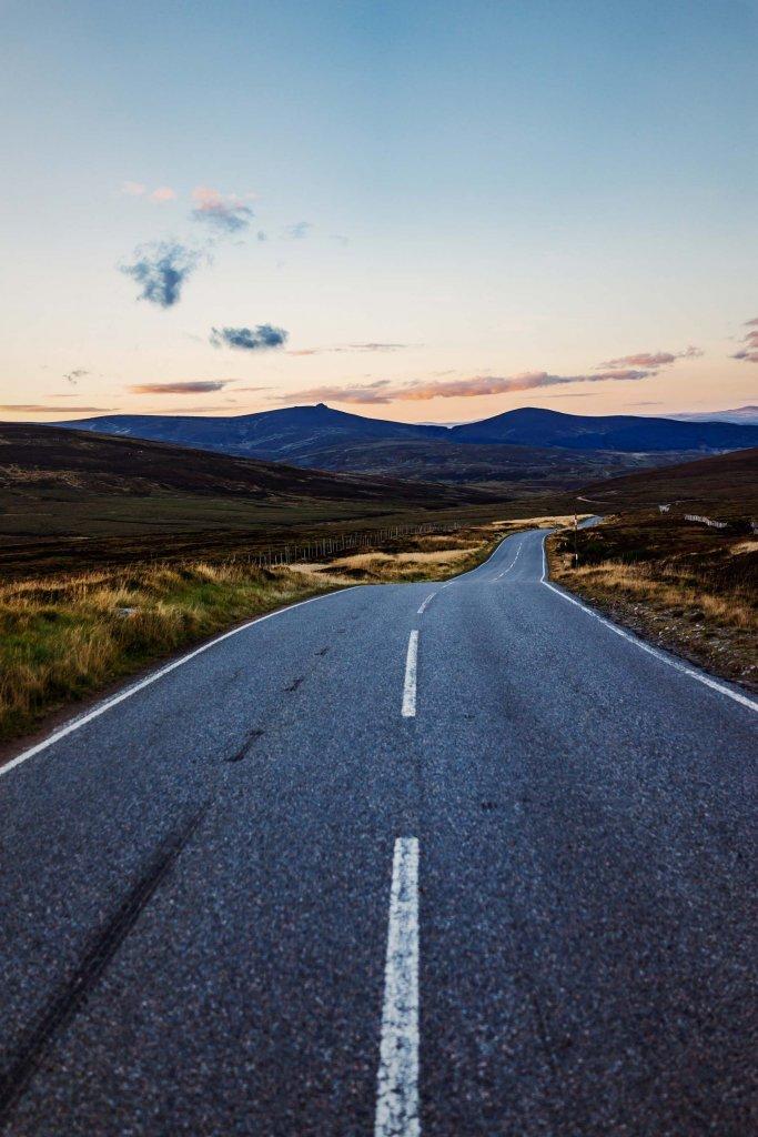 hoe maak je een roadtrip naar schotland