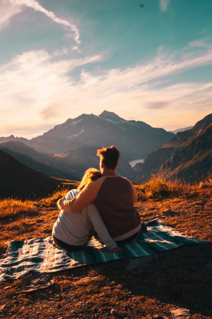 kamperen alpen