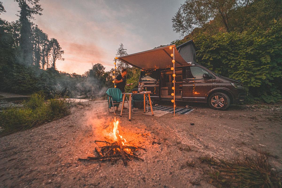 waar kamperen in frankrijk