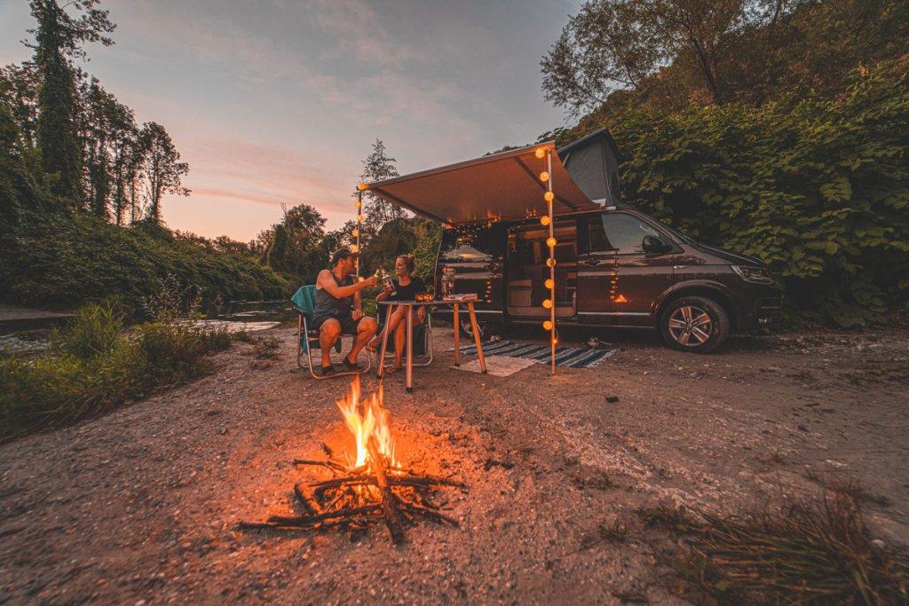 kamperen frankrijk rhone