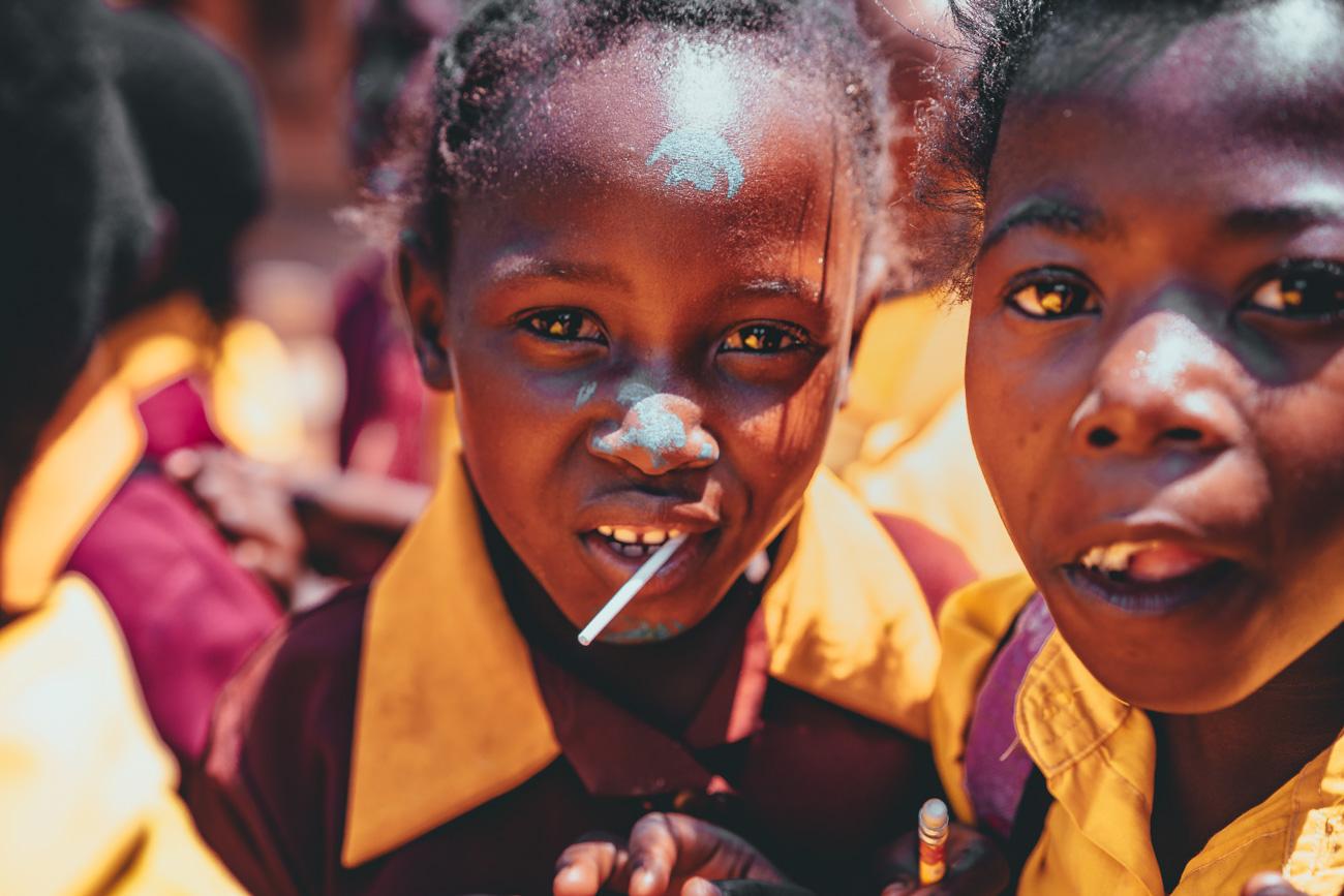 kinderen in afrika werken