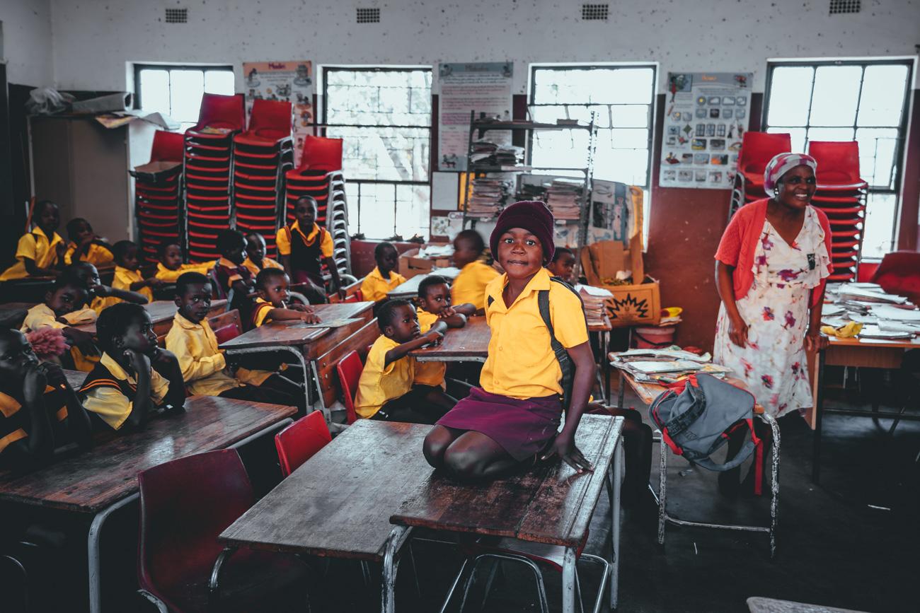 schooltje afrika bezoeken