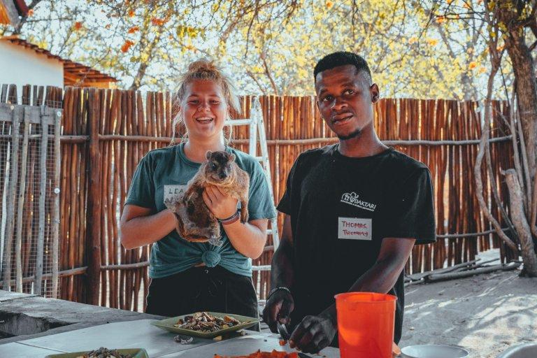werken met jongeren in zuid-afrika