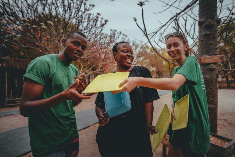 werken met studeten in afrika