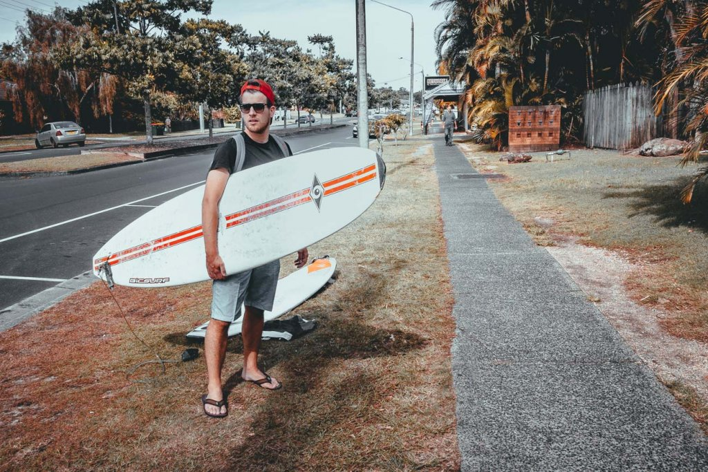 surfen in byron bay