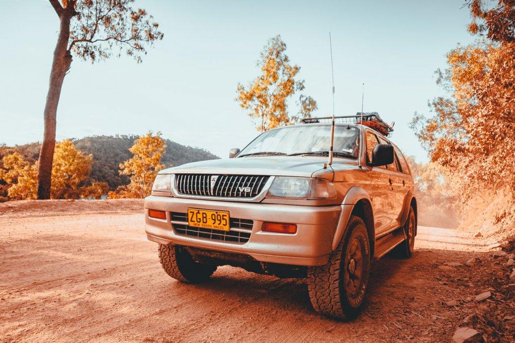 mitsubishi challenger australie roadtrip