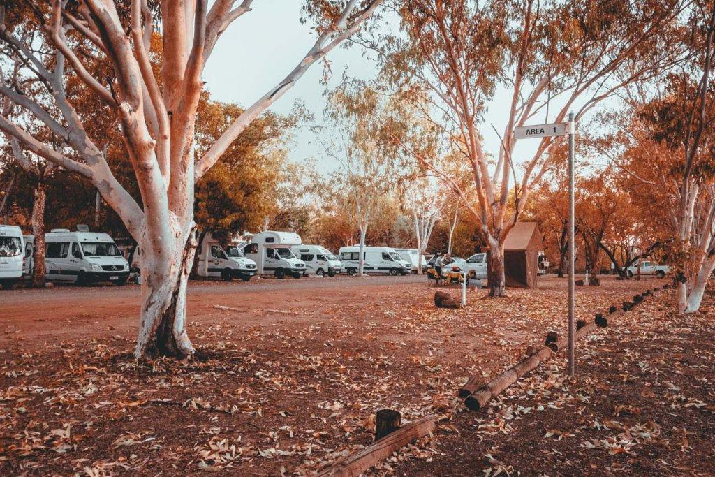 werken op een campground australie