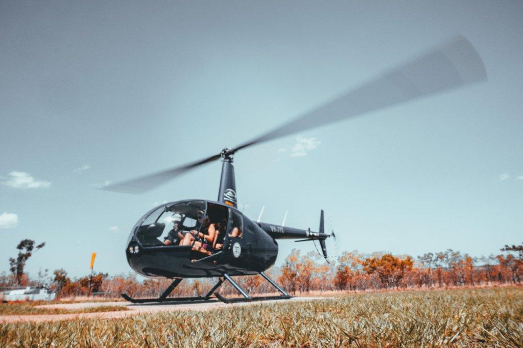 helicoptervluchten northern australie