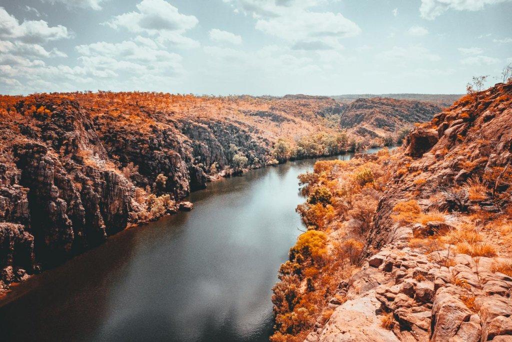 katherine nitmiluk gorge australie