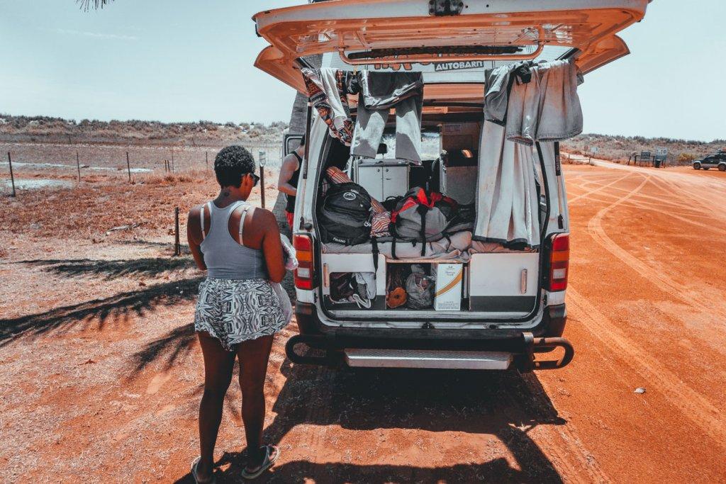 roadtrip met een campervan