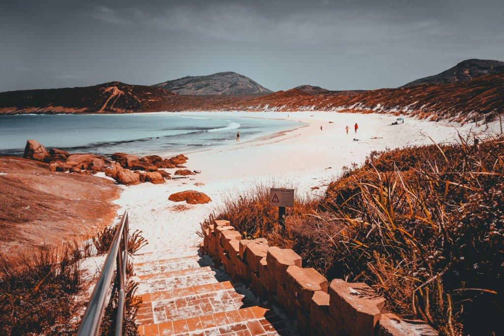 prachtig strand in australie