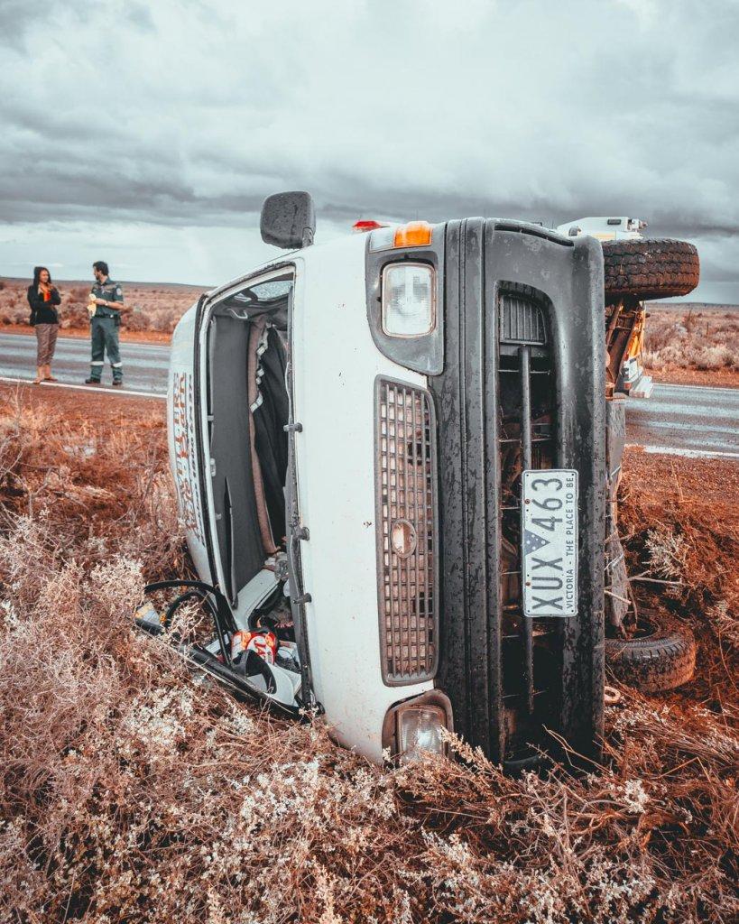 busje huren australie ongeval