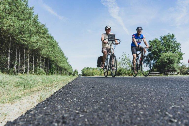 fietstocht in vlaanderen