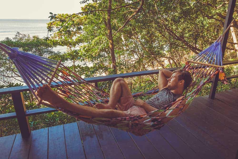 beste hotels van thaise eilanden hangmat zeezicht