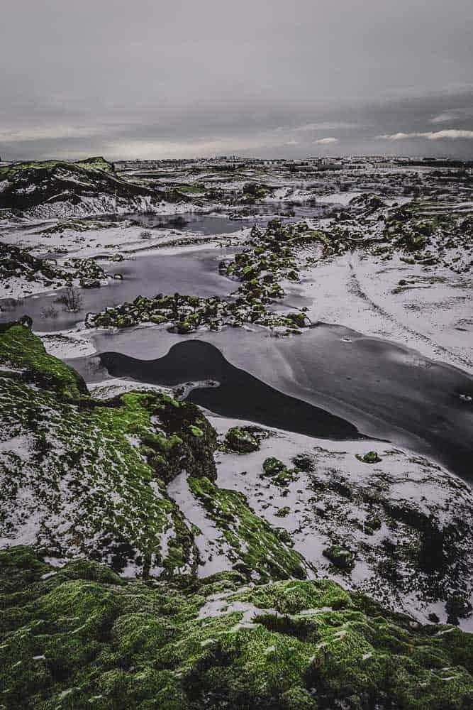 verhaal ijsland in de winter