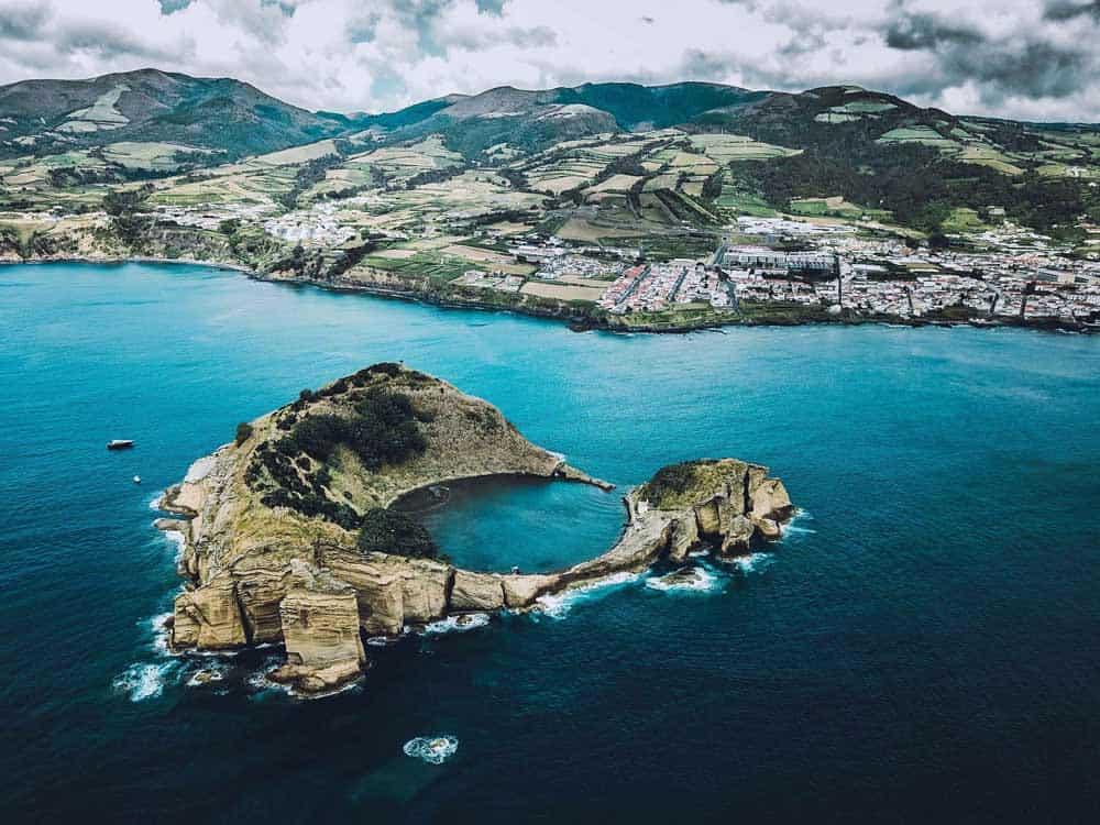 Azoren reis tips - Ponta Delgado - Villa Franco do Campo