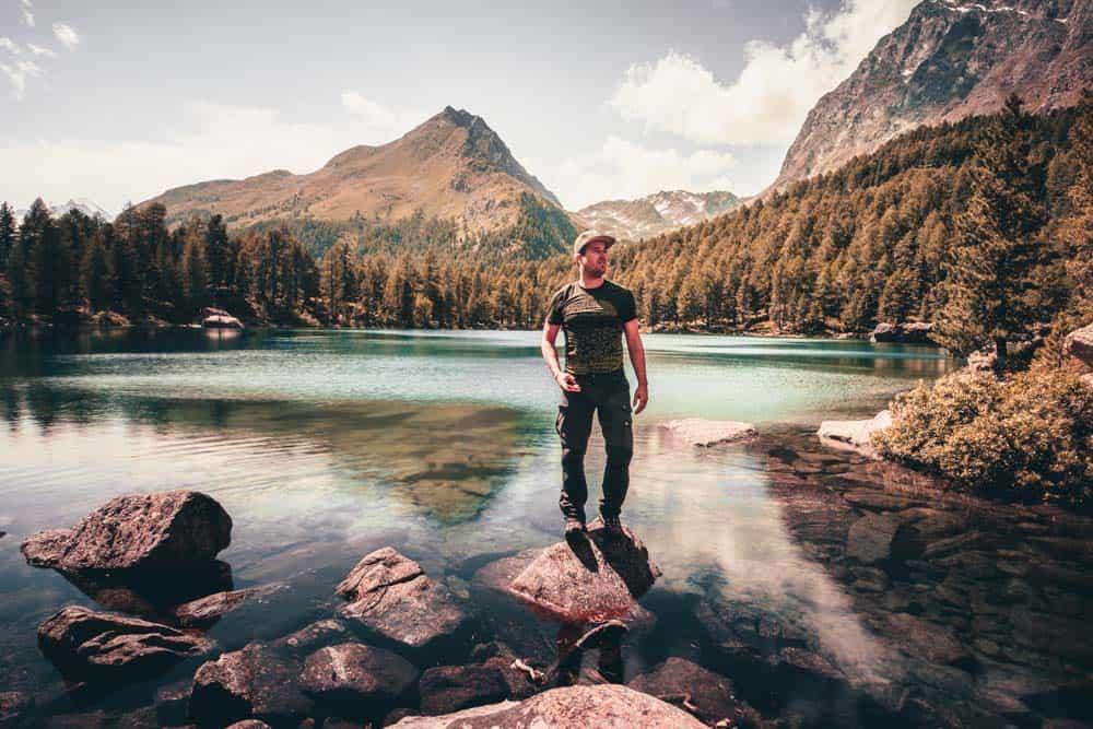 Lago di saoseo zwitserland wandeling maken