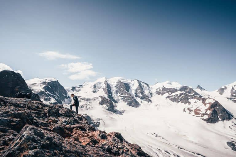 gletsjers van zwitserland