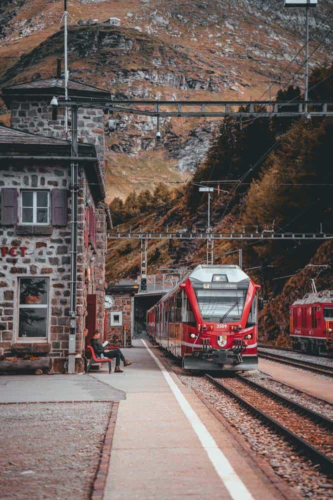 trein vakantie zwitserland