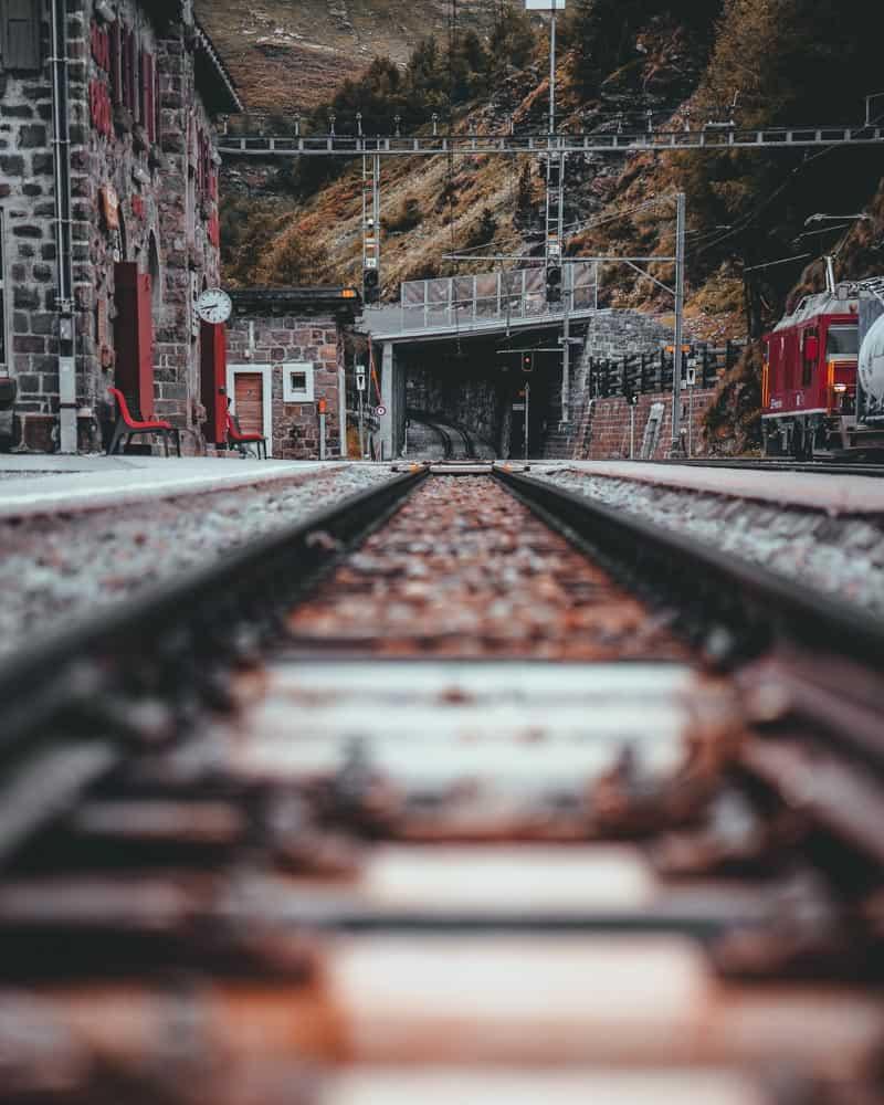 treinvakantie europa