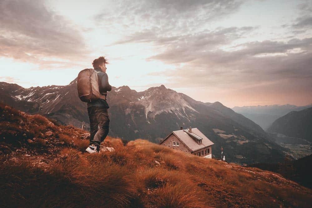zwitserse alpen hiken