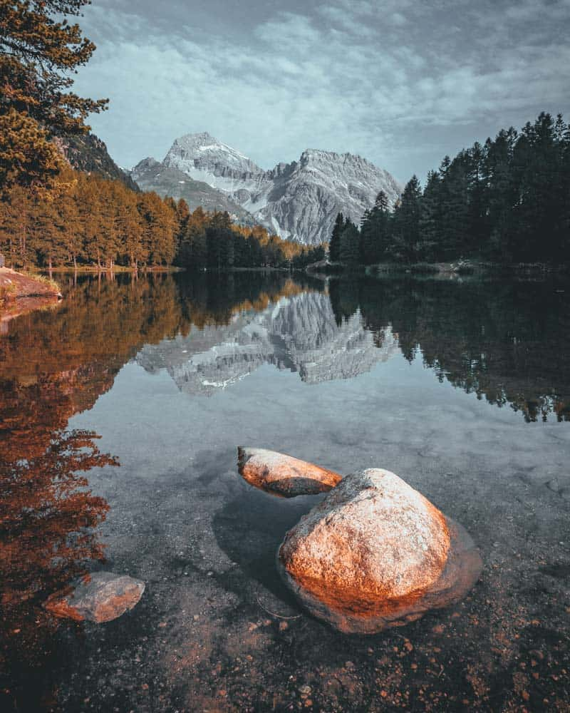 lagoa di saoseo zwitserland