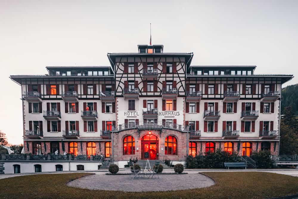 kurhaus bergun zwitserland