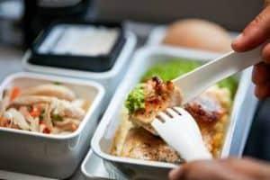 beste maaltijden op het vliegtuig
