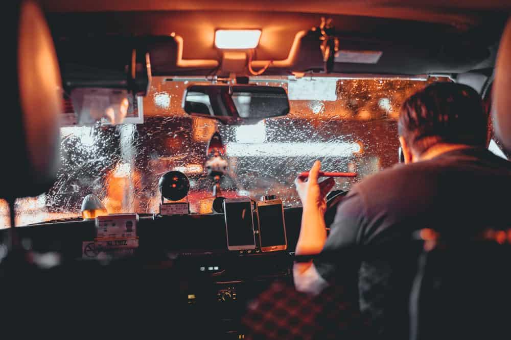 taxi en transport in hongkong
