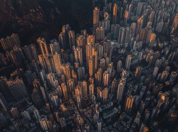 street food hong kong vliegen cathay skyline