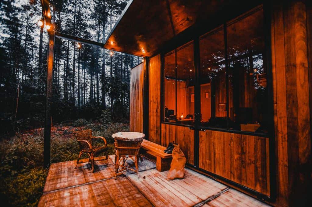 chalets, blokhutten en cabins in de ardennen